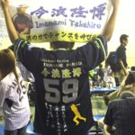 ヤクルトユニフォームへの背番号、胸番号、応援歌、選手シルエット、その他文字の刺繍