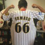 ミネソタツインズ 西岡剛  #1  阪神タイガース2006年 大和  #66