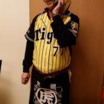 阪神タイガースのユニフォームへの刺繍
