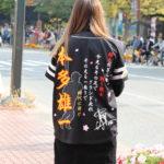 ソフトバンクホークスビジユニへ本多雄一選手応援刺繍